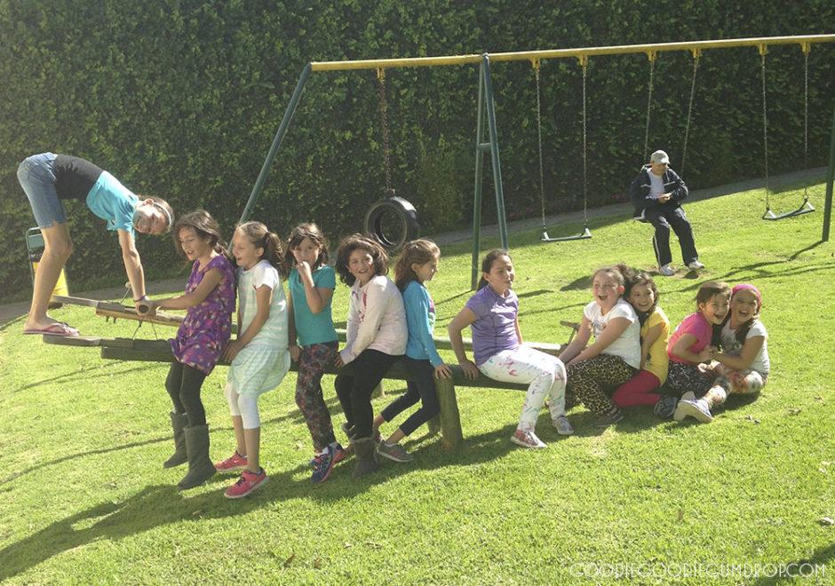 making local friends, playground