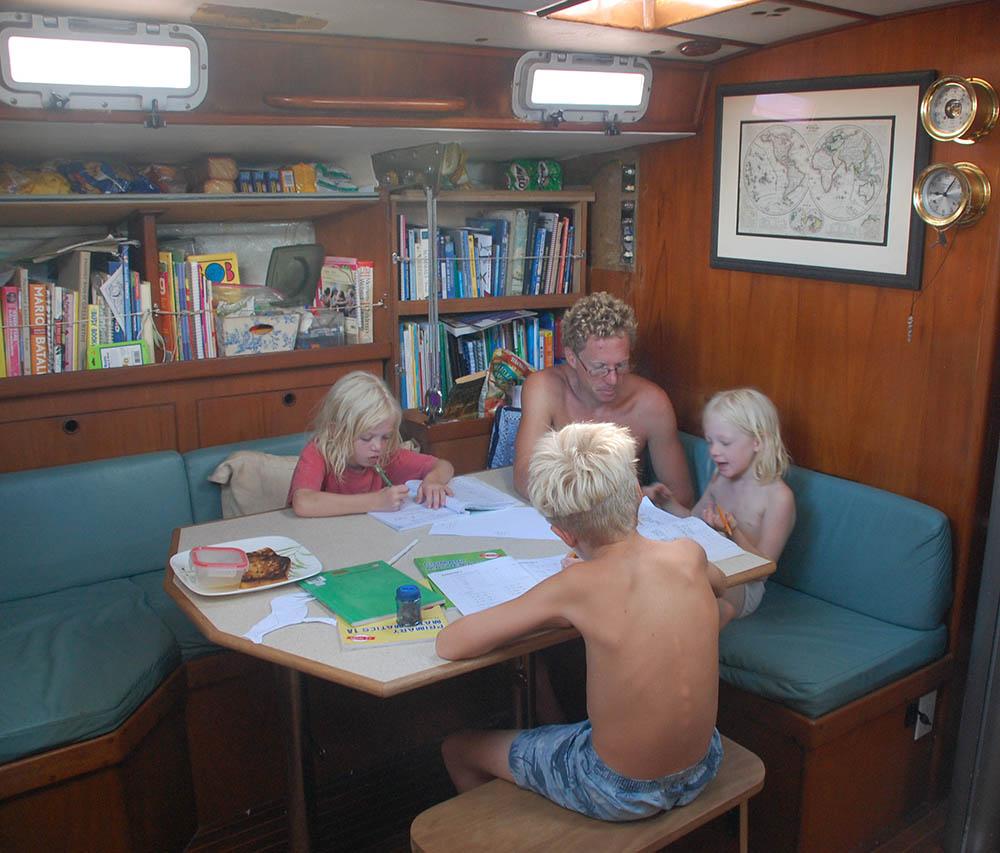 sailing family
