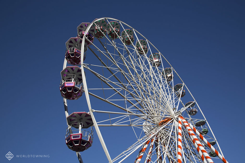 Nice France, ferris wheel