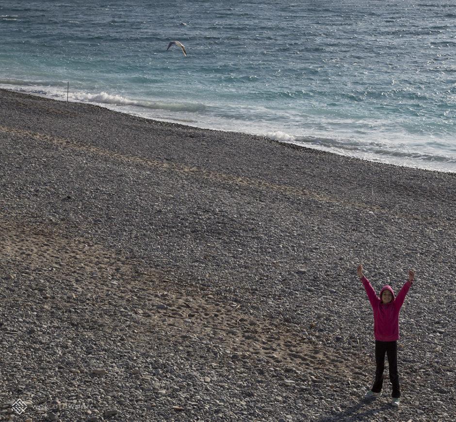Nice, France, coast