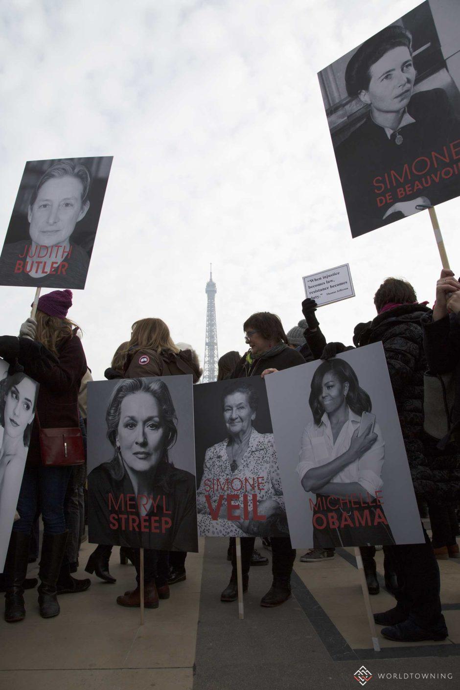 women's march paris