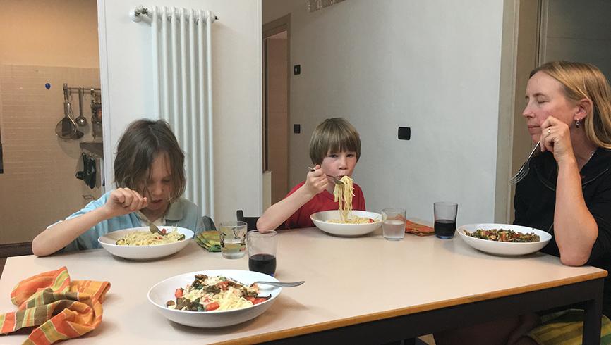 Harrison family, Inside a Traveler's walls