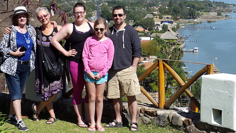The Traveling Family of Janet and Paul Ineson