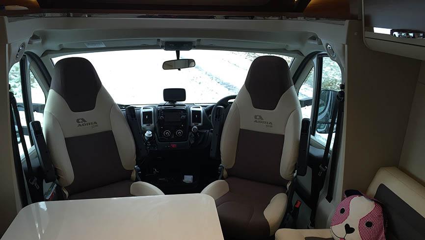 LifeinourVan's van