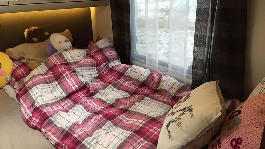 LifeinourVan's bedroom