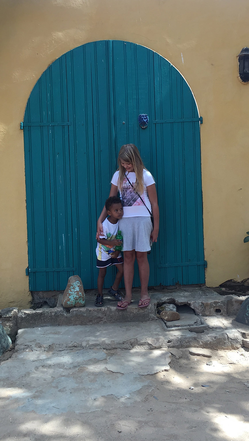 Brother and Sister in Africa