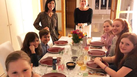 Traveling family of Megan Renaud